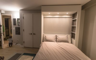 DIY : Painting the Murphy Bed