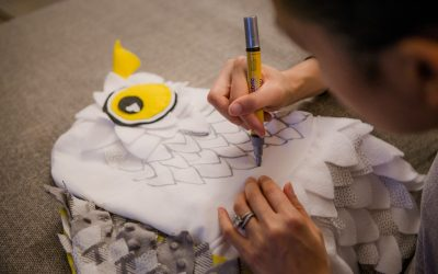 DIY Owl Halloween Costume