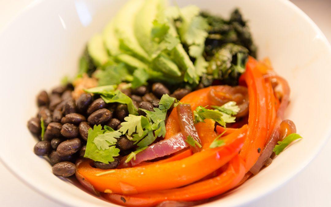 Healthy & addictive cauliflower rice bowl