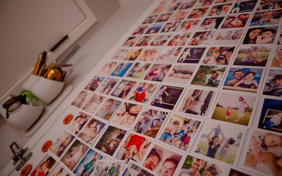 Create an instagram inspired door / wall !