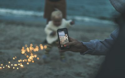 Digital Photography for Moms: How to Hold your Phone When Taking a Photo